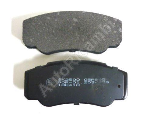 Brake pads Fiat Ducato 244 rear 2002-2006
