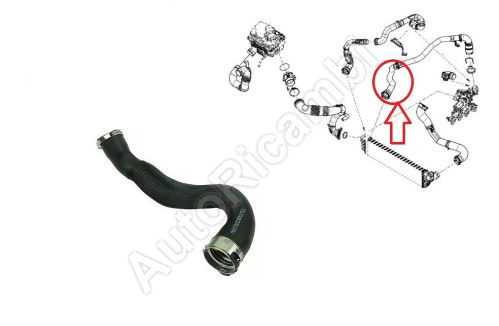 Charger Intake Hose Renault Master from 2010 2,3 dCi from turbocharger to intercooler