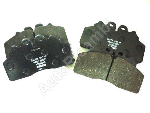 Brake pads Iveco EuroCargo 75/80/100E 2008 front / rear