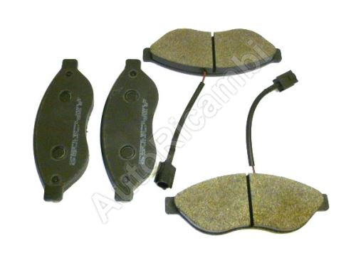 Brake pads Fiat Ducato from 2006 front Q11-17L 2-sensors