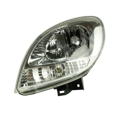 Headlight Renault Kangoo from 1998 left H4