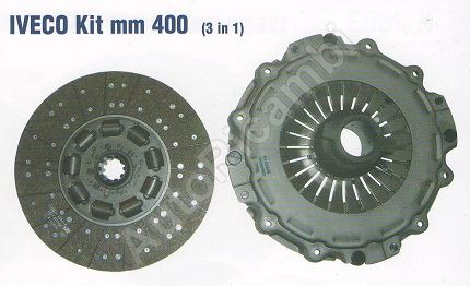 Clutch kit Iveco Stralis, Trakker 400 mm