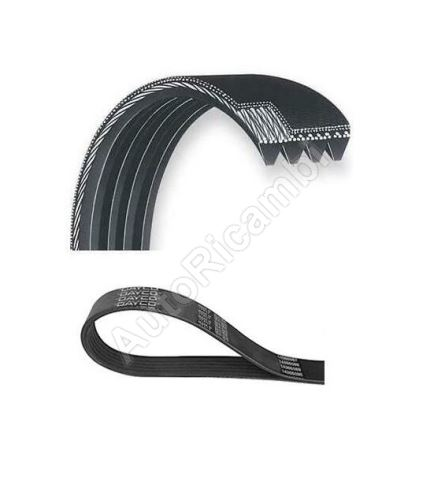 Drive V-belt Fiat Ducato 250/2014> 3,0 JTD for air conditioning - flexible