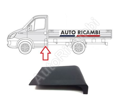 Protective trim Iveco Daily 2000-2014 left, behind the front door, Truck/chassis