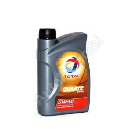 Engine oil Total Quartz 9000 5W40 1L