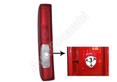 Tail light Renault Trafic 2006-2014 left without bulb holder, 3 grooves