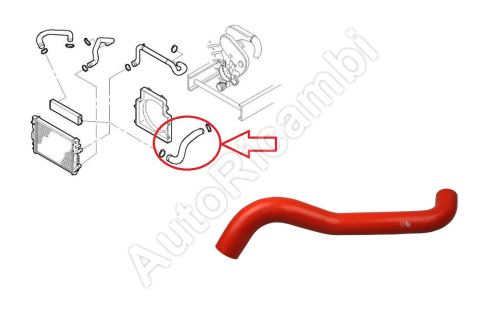 Charger Intake Hose Iveco Daily 2006-2011 3,0 from turbocharger to intercooler
