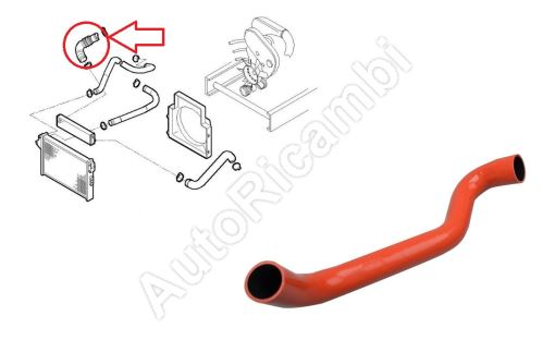 Charger Intake Hose Iveco Daily 2000-2006 2,3 from turbocharger to intercooler