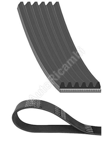 Drive Belt (V-Belt) Fiat Ducato 2006-2011, Jumper from 2006 2,2D PUMA without A/C