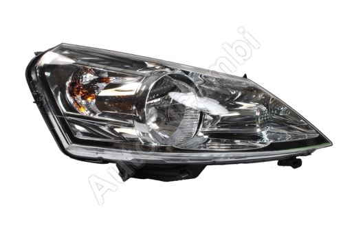 Headlight Fiat Scudo 2007-2016 right H4 electric, with motor