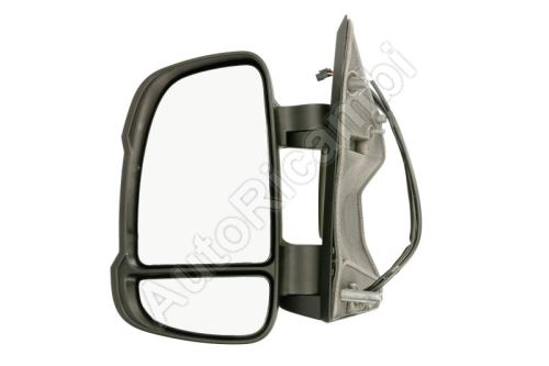 Rear View mirror Fiat Ducato from 2011 left short 80mm, electric, with sensor, 16W, 10-PIN