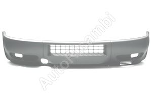 Front Bumper Iveco Daily 2000 black, for fog lights