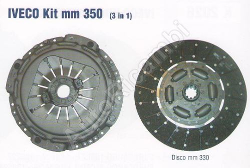 Clutch kit Iveco EuroCargo Tector 350mm