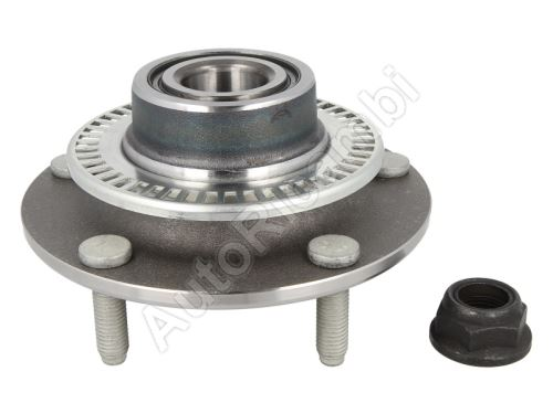 Rear wheel hub Ford Transit 2000-2006 with bearing, ABS, FWD