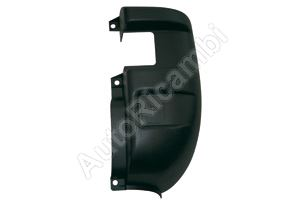 Bumper corner Iveco Daily rear right black