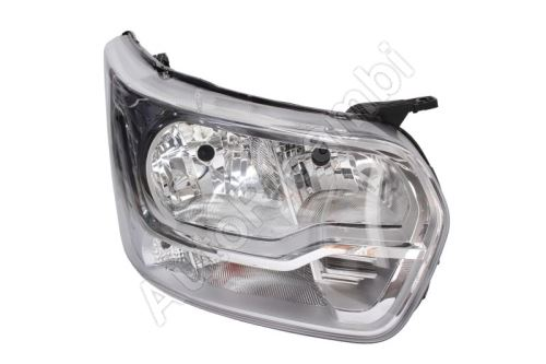 Headlight Ford Transit from 2013 right front H7+H15, with daylight