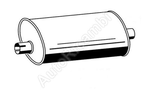 Exhaust silencer Iveco EuroCargo euro2