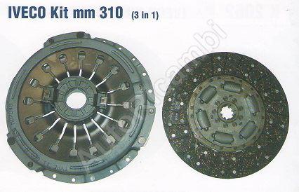 Clutch kit Iveco EuroCargo 75E14 12
