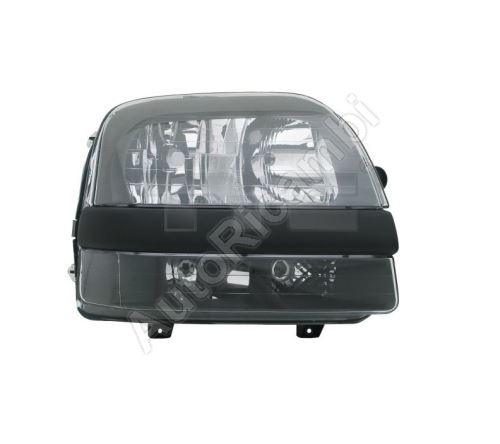 Headlight Fiat Doblo 2000-2005 right H7+H1+H1 with fog light, without motor