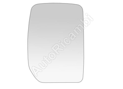 Rear View Mirror Glass Ford Transit 2000-2014 right upper, heated