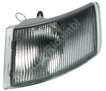 Front turn signal light Fiat Ducato 230 left white
