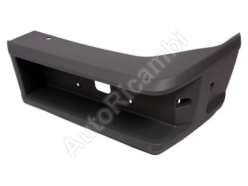 Rear bumper Iveco TurboDaily up to 2000 right corner