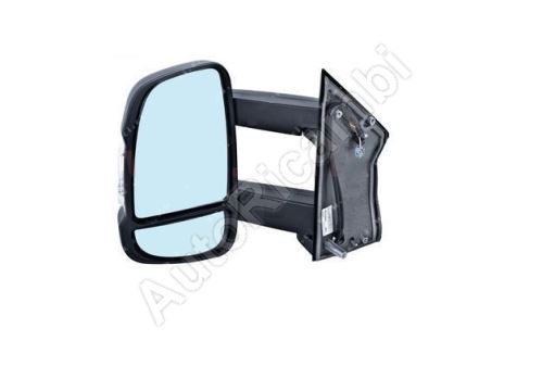 Rear View mirror Fiat Ducato 2006-2011 left long 190mm, electric, without sensor, 5W, 8-PI