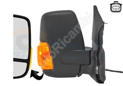 Rearview mirror Ford Transit from 2013 right short, electric, heated, 6-PIN, 16W