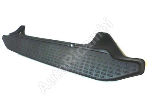 Rear bumper Iveco Daily 2000-2006 middle - footstep 35S/35C black