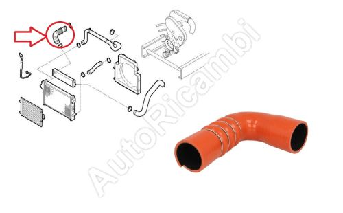 Charger Intake Hose Iveco Daily 2000-2011 2,3/3,0 from turbocharger to intercooler