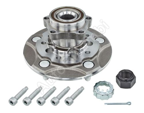 Front wheel hub Ford Transit 2006-2014 FWD, single-wheel, with bearing