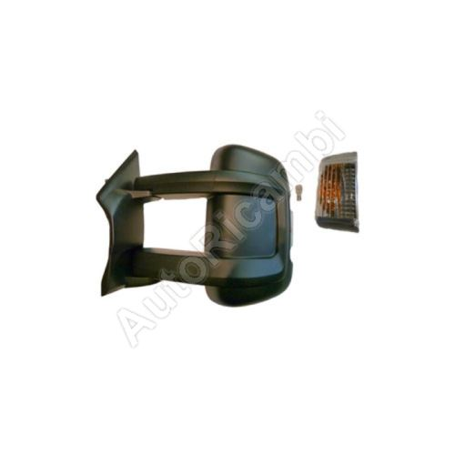 Rear View mirror Fiat Ducato from 2011 left long 250 mm, manual with sensor, 16W, 4-PIN