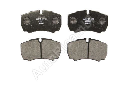 Brake pads Iveco Daily from 2000 35S rear