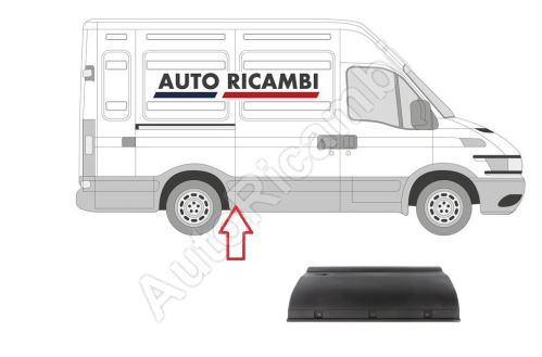 Protective trim Iveco Daily 2000-2014 right, in front of the rear fender