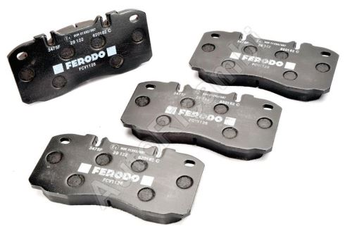 Brake pads Iveco EuroCargo 60E-75E from 2000, Daily 2006-2011 65C front