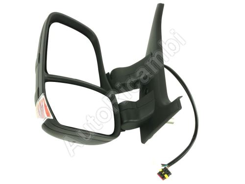 Rear View mirror Iveco Daily 2006-2014 left short, electric, without sensor, 9-PIN