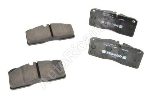Brake pads Iveco EuroCargo 80E, 100E front/rear