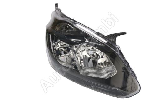 Headlight Ford Transit, Tourneo Custom from 2012 front, right with daylight, black
