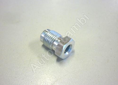 Brake pipe adaptor 10/1mm, for 5mm pipe L = 17mm
