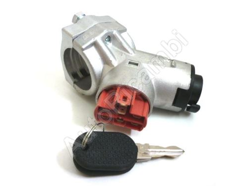 Ignition switch Fiat Ducato 1994-2002 with ignition barrel and keys, 7-PIN
