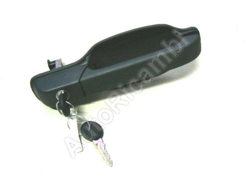 Outer front door handle Iveco TurboDaily up to 2000 left with key