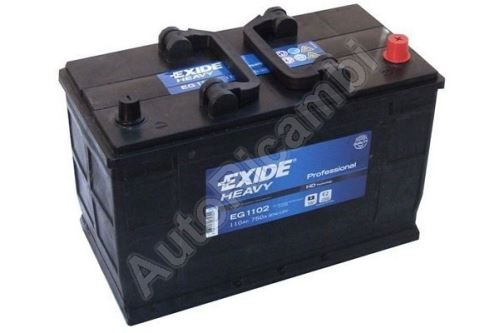 Battery 12V 110Ah Iveco Daily