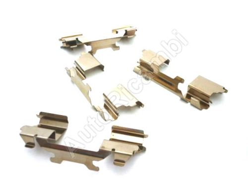 Repair kit Iveco Daily from 2006 35S/35C/50C front, brake pads pressure plates, 4pc