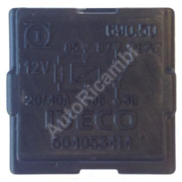 Heating relay Iveco Daily 12V
