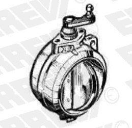 Klapka motorovej brzdy Iveco EuroCargo
