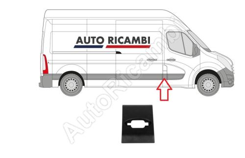 Protective trim Renault Master from 2010 right, behind the front door, B-column