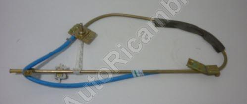 Window mechanism Iveco EuroCargo left manual