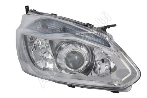 Headlight Ford Transit, Tourneo Custom 2012-2016 front, right with daylight, chrome