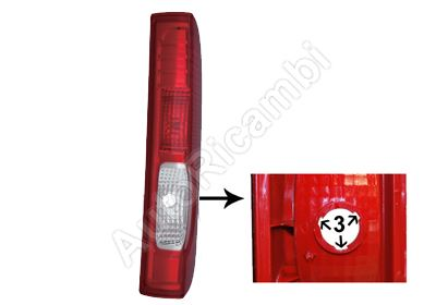 Tail light Renault Trafic 2006-2014 right without bulb holder, 3 grooves