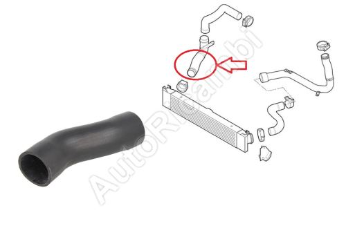 Charger Intake Hose Fiat Ducato from 2006 3,0 from intercooler to throttle